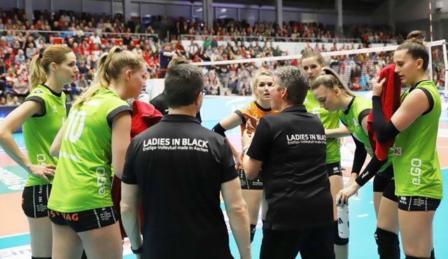 Ladies unterliegen in Dresden klar mit 0:3  - Foto: Ladies in Black