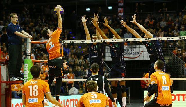 BR Volleys werden zu Grenzgängern - Foto: Eckhard Herfet