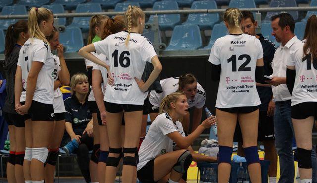Volleyball-Team Hamburg wacht bei Generalprobe erst spät auf - Foto: VTH/Lehmann