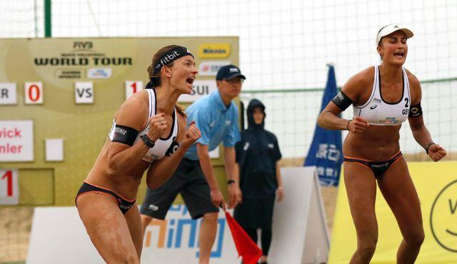 Beachvolleyball-Nationalteam Holtwick/Semmler startet ab Donnerstag bei den Fuzhou Open in China - Foto: FiVB