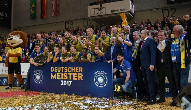 Schwerin beendet Titel-Durststrecke - Foto: SSC / Michael Dittmer