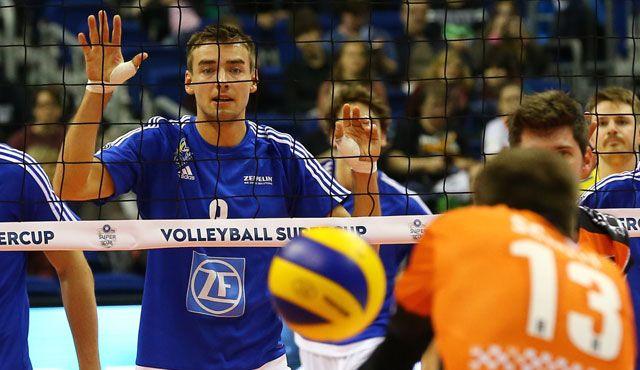 BR Volleys: Vom Supercup-Fluch zum -Segen? - Foto: Eckhard Herfet