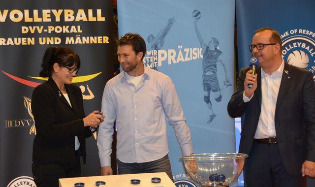 United Volleys stürzen den Pokalsieger! - Foto: VBL