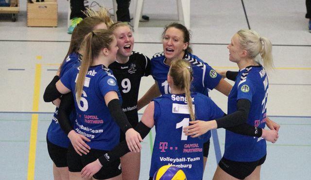 Volleyball-Team Hamburg mit neuem Trainer gegen RPB Berlin - Foto: VTH/Lehmann