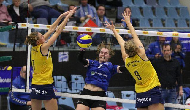 Meister aus Köln zu stark für das Volleyball-Team Hamburg - Foto: VTH Lehmann
