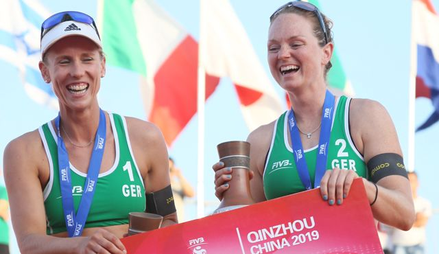 China-Kracher: Borger/Sude holen Gold in Quinzhou - Foto: FiVB