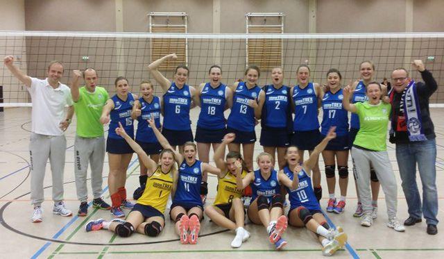 DSHS SnowTrex Köln zieht zum dritten Mal in Folge in den DVV-Pokal ein - Foto: DSHS SnowTrex Köln