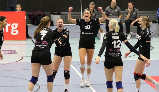Volleyball-Team Hamburg vor Doppelspieltag gegen Oythe und Köln - Foto: VTH/Lehmann