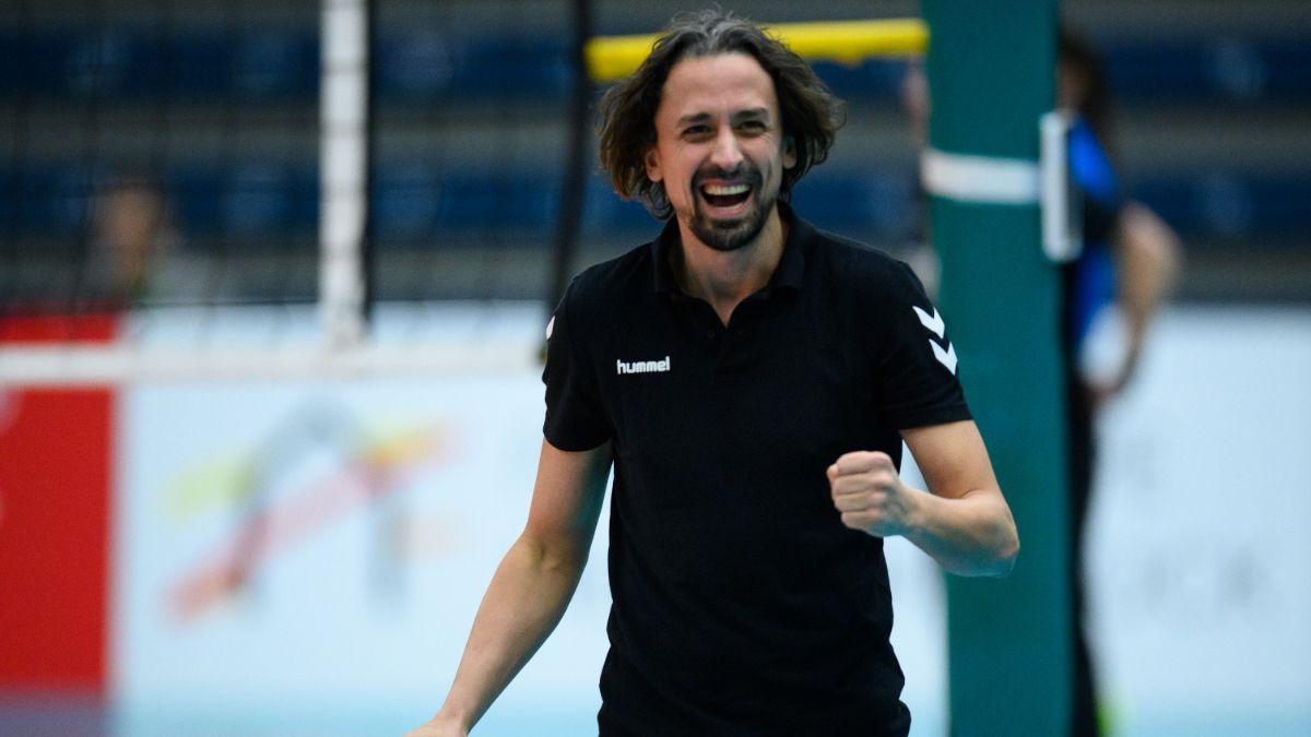 Benedikt Frank ab der neuen Saison Cheftrainer des VCW - Christian Sossenheimer wird wieder Co-Trainer - Foto: Conny Kurth