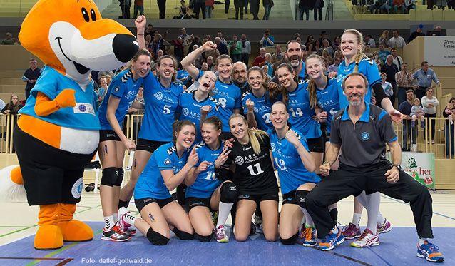 VC Wiesbaden überzeugt und freut sich auf den Dresdner SC - Foto: Detlef Gottwald