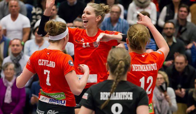 Saisonendspurt für NawaRo Straubing - Doppelspieltag soll Vorentscheidung für Meisterschaft bringen - Foto: Schindler