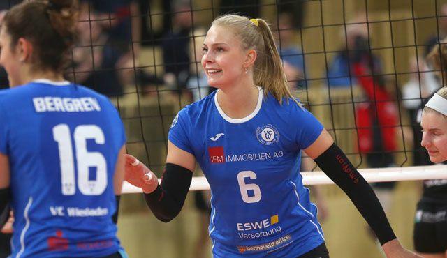 Selma Hetmann ist Mannschaftskapitänin des VCW - Foto: Detlef Gottwald