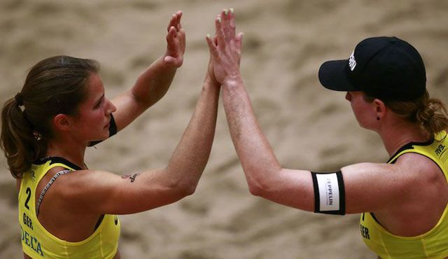 DVV-Teams in Baden & Nantong - Foto: FiVB