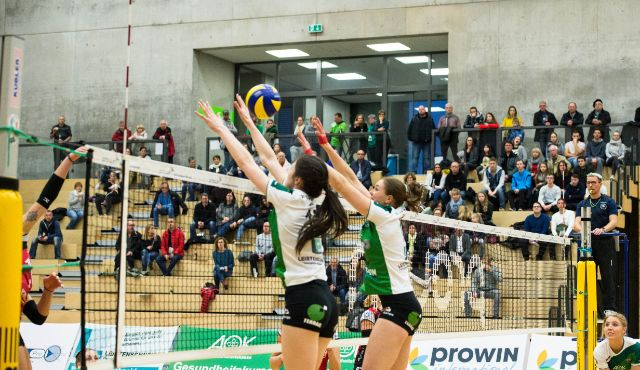 proWIN Volleys TV Holz erwarten Tabellensechsten SV Lohhof - Foto: Georg Kunz