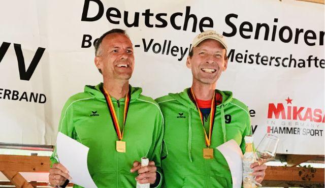 Deutsche Beachvolleyball-Meisterschaften der Senioren in Berlin - Foto: SG Rodheim