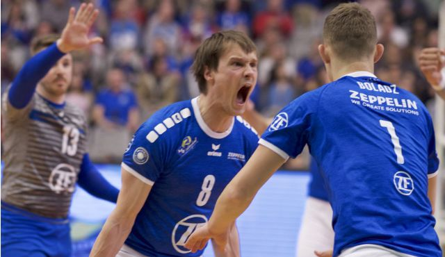 Acht Häfler bei der CEV Volleyball-Europameisterschaft - Foto: Günter Kram