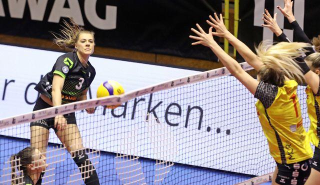 Suhl zu stark für Aachen - Foto: Ladies in Black Aachen\ Andreas Steindl