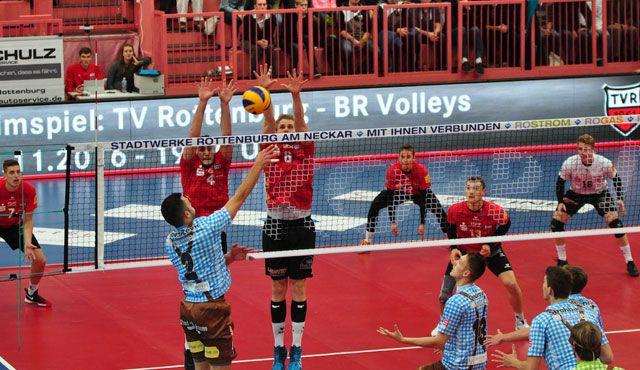Rottenburg unterliegt Herrsching im Tie-Break 2:3 - Foto: Klaus Hirsch