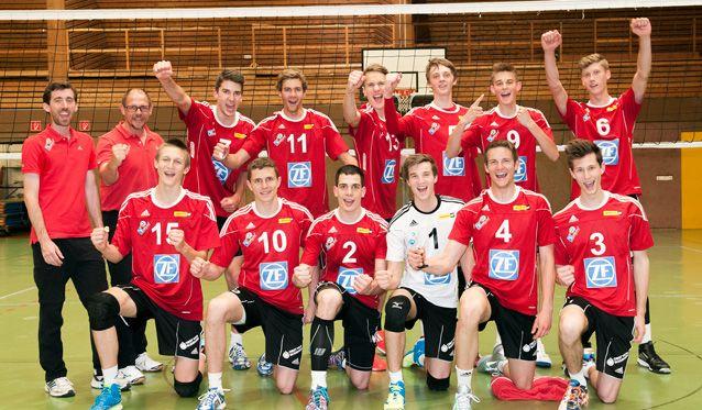 Häfler U20-Volleyballer holen den Meistertitel - Foto: Gunthild Schulte Hoppe