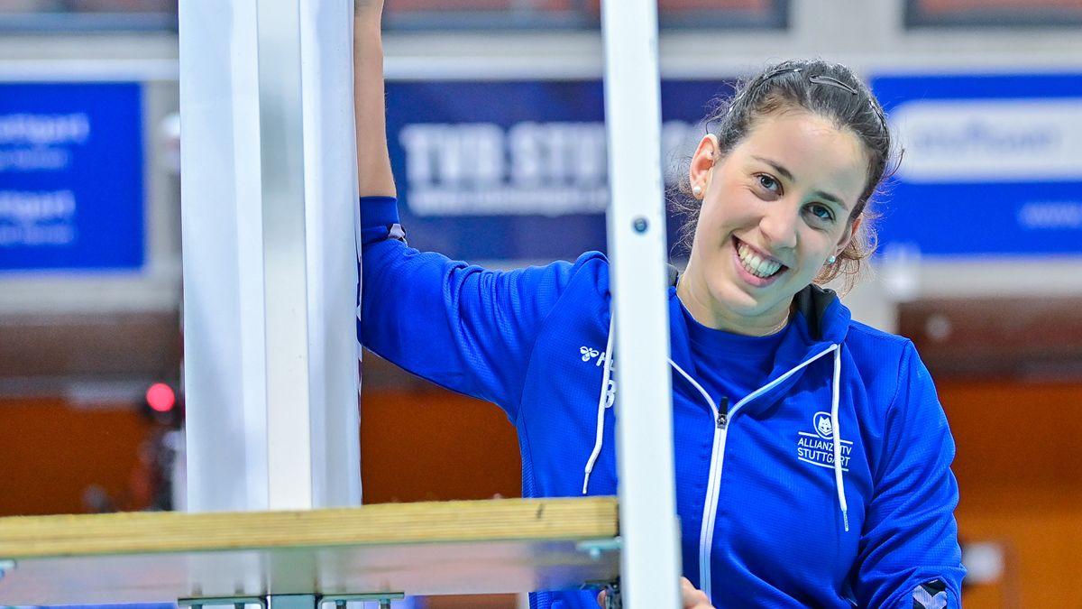 Maria Segura Pallerés bleibt für weitere zwei Jahre in Stuttgart  - Foto: Foto: Jens Körner / Bildermacher Sport