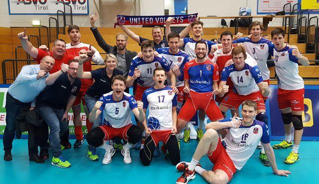 """Zweiter Halbfinaleinzug für """"Balu und seine Crew"""" - Foto: United Volleys"""