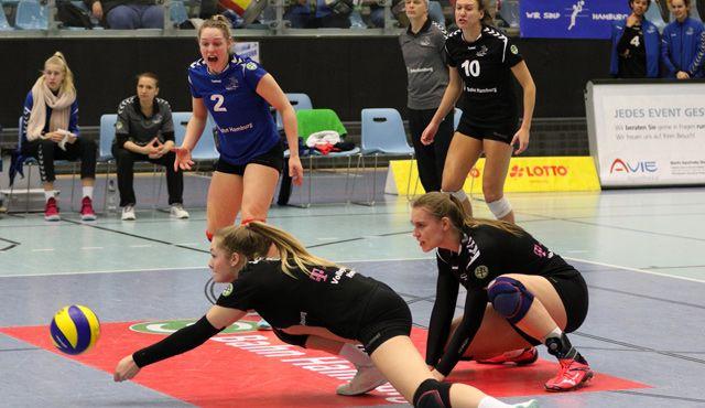 Volleyball-Team Hamburg holt Pflichtsieg gegen VC Olympia Schwerin - Foto: VTH/Lehmann