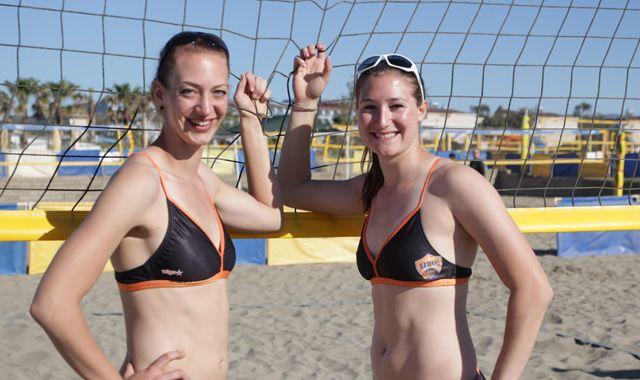 Karnbaum/Niemczyk erreichen bei smart beach cup in Thüringen Platz vier - Foto: Andre Bugl