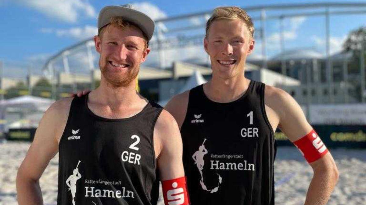 Beach-Nationalteam Bergmann / Harms gewinnt  Tour Stop der  German Beach Tour in Stuttgart - Foto: Flo Treiber