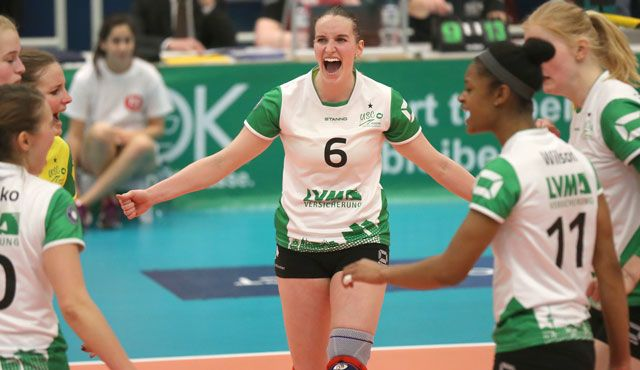 Coup für den VCW: Wiesbadens Volleyballerinnen verpflichten Außenangreiferin Sina Fuchs - Foto: Detlef Gottwald