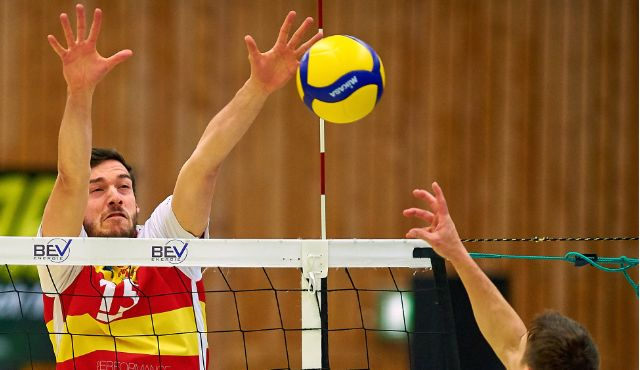 BADEN VOLLEYS lassen den L.E. Volleys keine Chance - Foto: Andreas Arndt