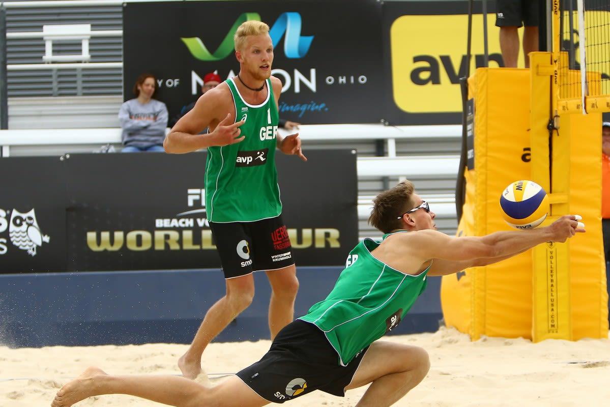Endstation Achtel- & Viertelfinale - Stand jetzt vier DVV-Duos in Rio - Foto: FiVB