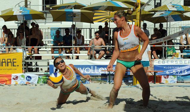 Tie-Break-Festspiele beim BVV Beach Masters in Ebersberg - Foto: Christian Einecke