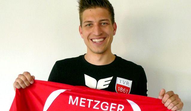 Sven Metzger bleibt beim TVR: Vom Jugend- zum Führungsspieler - Foto: Philipp Vollmer