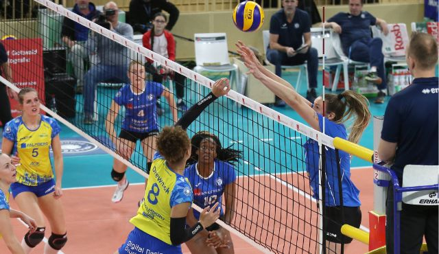 0:3-Niederlage: VCW chancenlos gegen Meister Schwerin - Foto: Detlef Gottwald