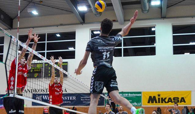 Netzhoppers-U20 wird Nordost-Meister und qualifiziert sich für die DM - Foto: Dagmar Jaschen