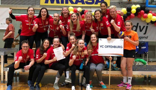 Sensationeller Erfolg für die weibliche U20 des VC Offenburg - Foto: VC Offenburg