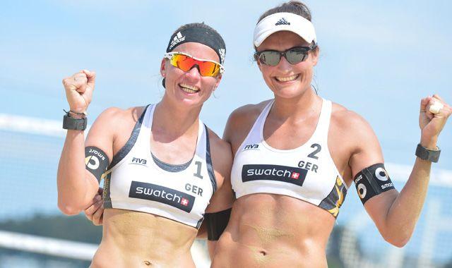 Katrin Holtwick und Ilka Semmler Neunte beim ersten Turnier der Major Series - Foto: FiVB