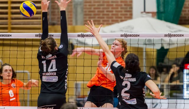 Straubings Volleyballerinnen empfangen Allianz MTV Stuttgart II zum letzten Heimspiel 2016 - Foto: Schindler