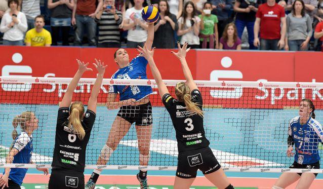 Dresden entscheidet erstes Finalspiel um die Deutsche Meisterschaft für sich - Foto: Tom Bloch - www.tombloch.de