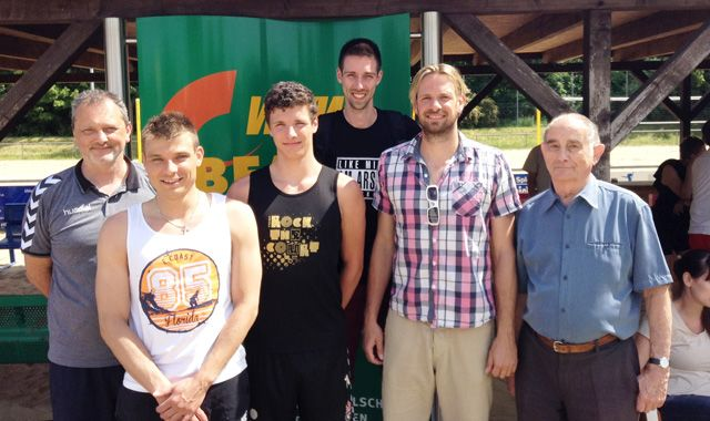 Netzhoppers verlängern Verträge mit Rieke, Heinecke und Ratajczak - Foto: Netzhoppers