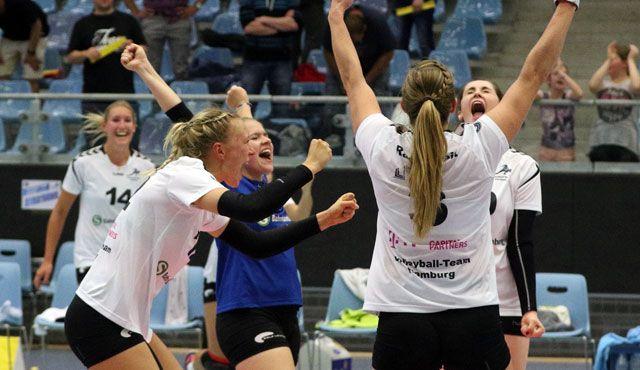 Volleyball-Team Hamburg gewinnt beim Meister - Foto: VTH/Lehmann (Archiv)