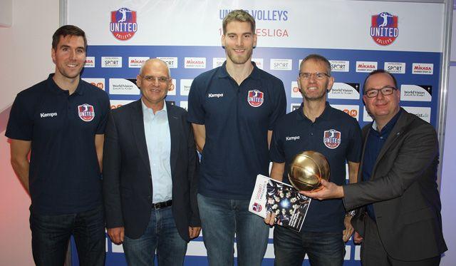United Volleys können aus dem Vollen schöpfen - Foto: VBL