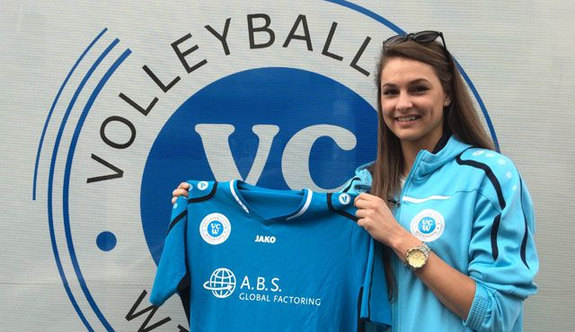 Dora Grozer neue Außenangreiferin beim VCW - die 20-Jährige unterschreibt Zweijahresvertrag - Foto: Detlef Gottwald