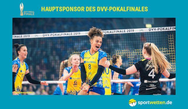 sportwetten.de wird Hauptsponsor des DVV-Pokalfinals - Foto: sportwetten.de