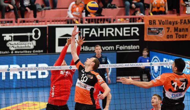 Auswärts-Abschied im Volleyball-Tempel - Foto: Ralph Kunze