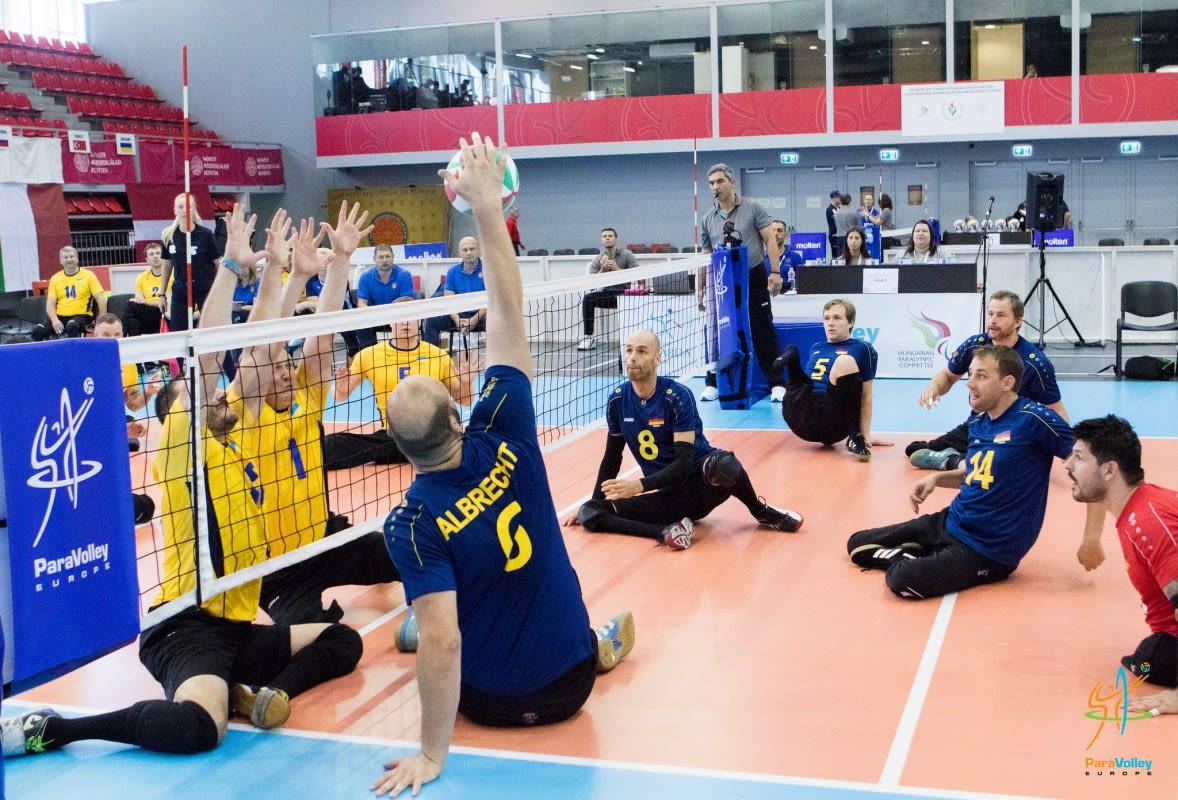 Männer und Frauen ungeschlagen: Bayer-Sitzvolleyballer bei EM Gruppensieger - Foto: Daniele-Celesti-Para