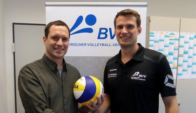 Dominic von Känel neuer Beachvolleyball Landestrainer in Bayern - Foto: Bayerischer Volleyball-Verband