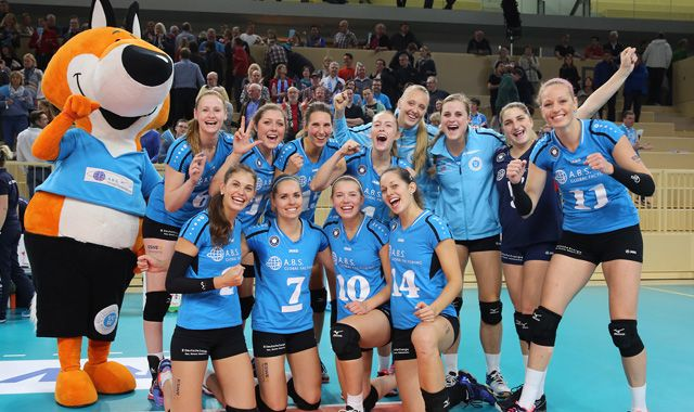 VCW feiert Heimsieg gegen VolleyStars Thüringen - Foto: Detlef Gottwald
