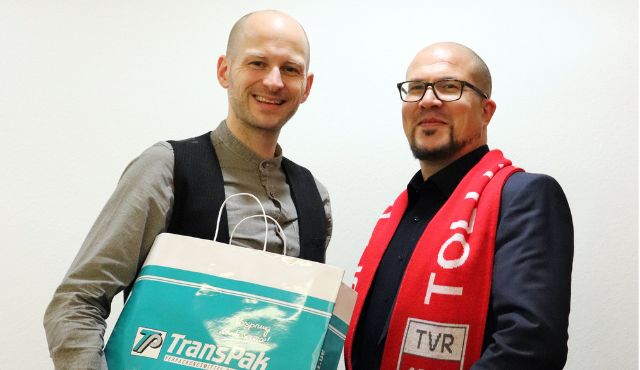 Die TransPak AG wird neuer Partner des TV Rottenburg - Foto: Lajana Kampf