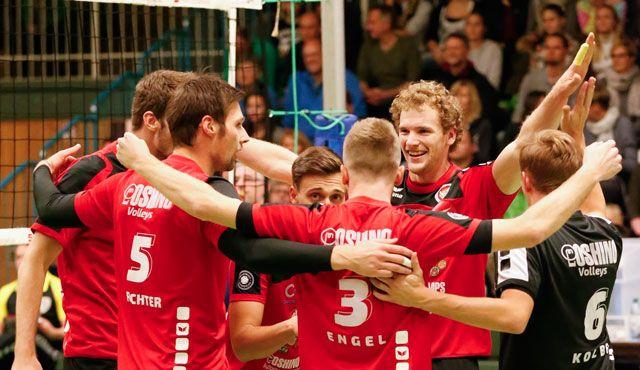 Eltmann Oshinos wollen Fluch von Grafing diesmal brechen  - Foto: VC Eltmann / Oshino Volleys Eltmann